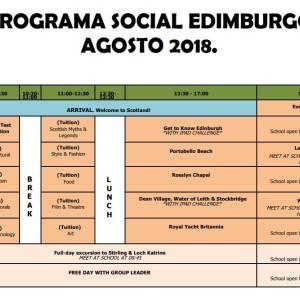 Programa social de Edimburgo