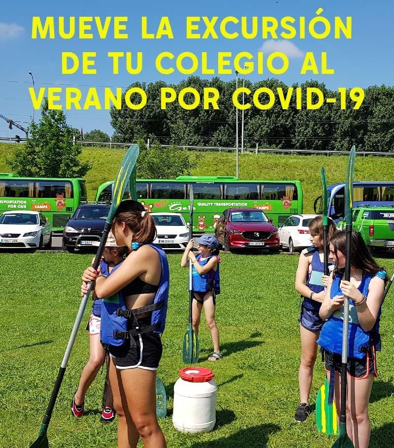 Cambios de fechas de excursión por COVID-19