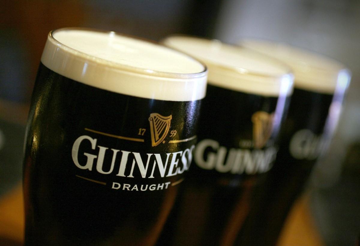 cerveza negra de Irlanda