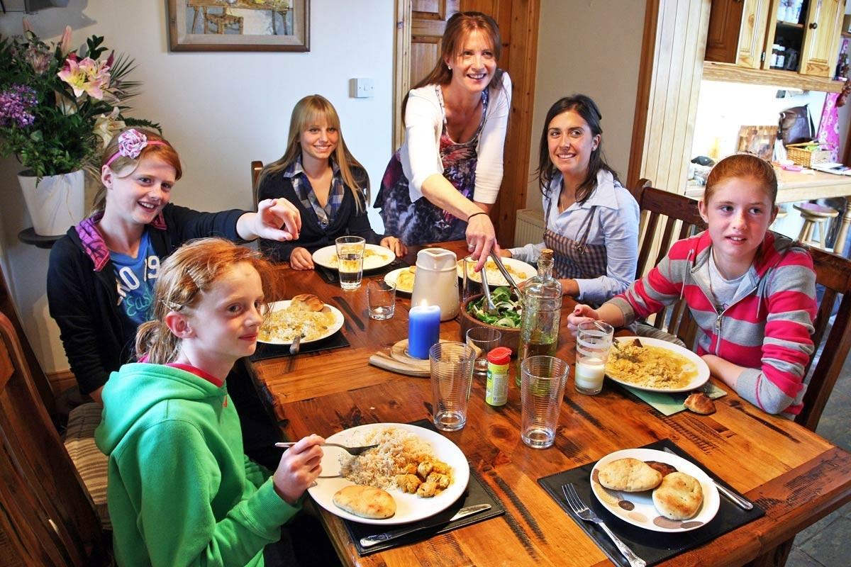 alojamiento en familias irlandesas
