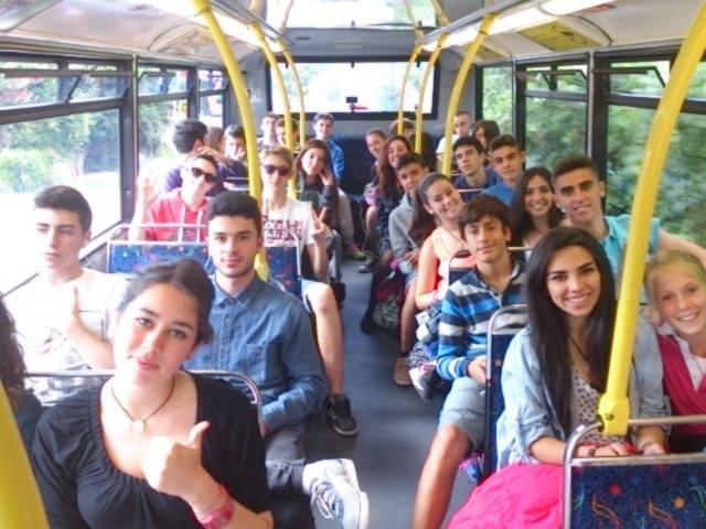 Excursiones campamento de inglés en Bray