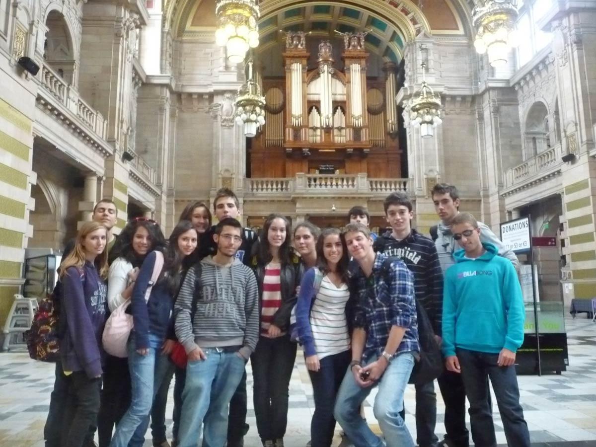 Excursiones curso para jóvenes en Edimburgo