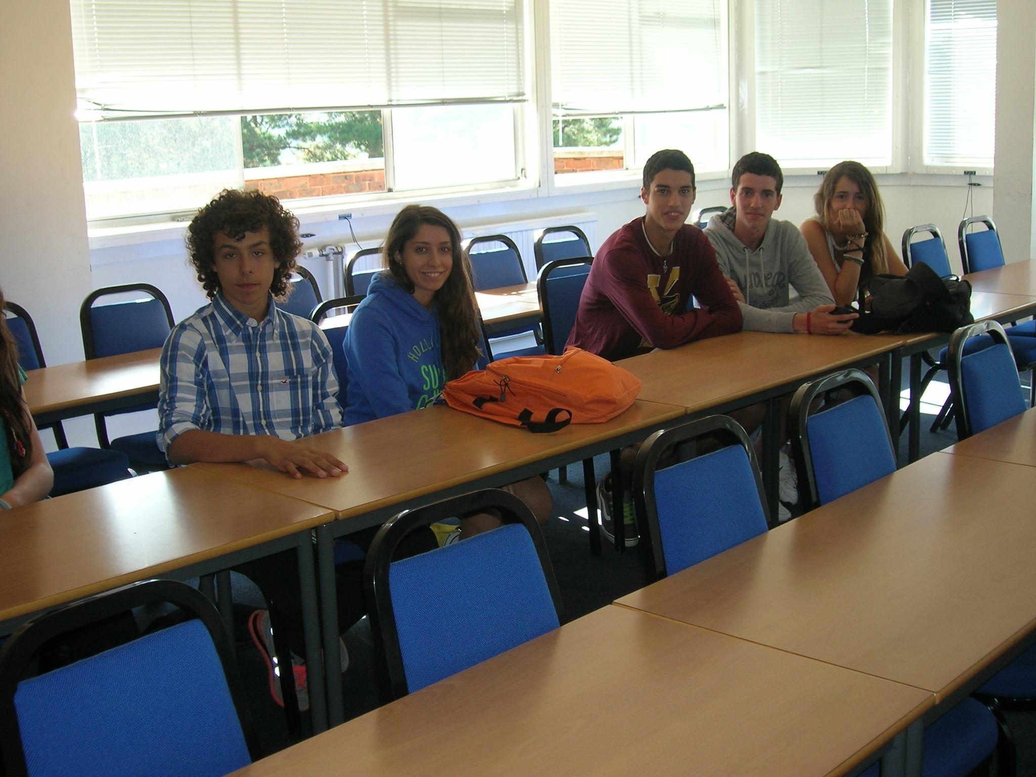 Los estudiantes del programa de inglés en Exeter disfrutarán de instalaciones cuidadas y dotadas